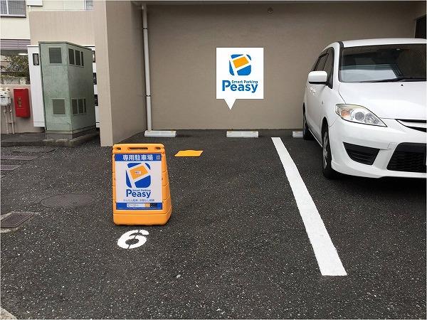 駐車車室になります。