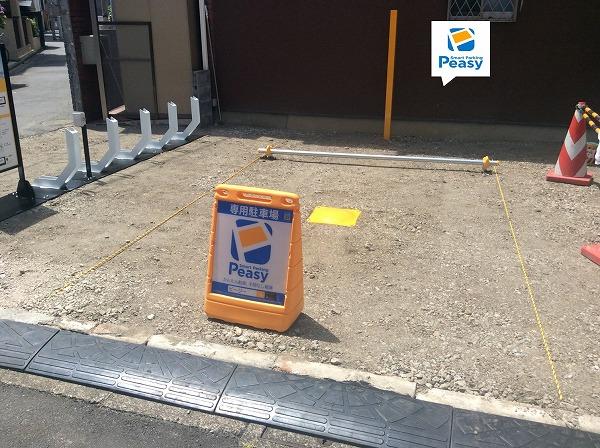 駐車車室です。駐車可能な車両サイズに制限がありますので、注意事項欄をご確認ください。