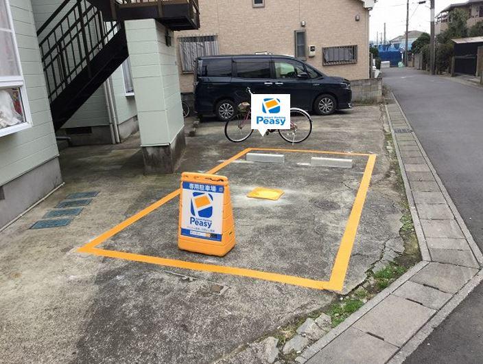 駐車車室です。