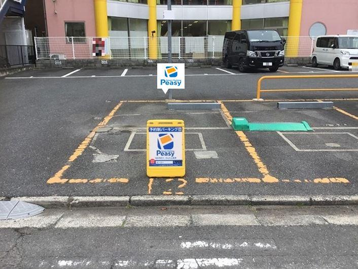 駐車車室です。12番車室です。