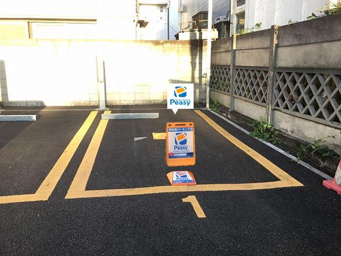 駐車車室です。1番車室です。