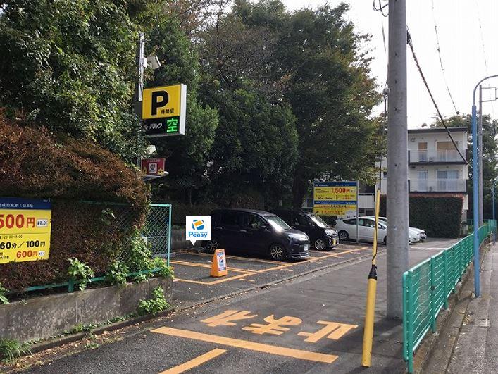 駐車場全景です。1番車室が駐車車室となります。