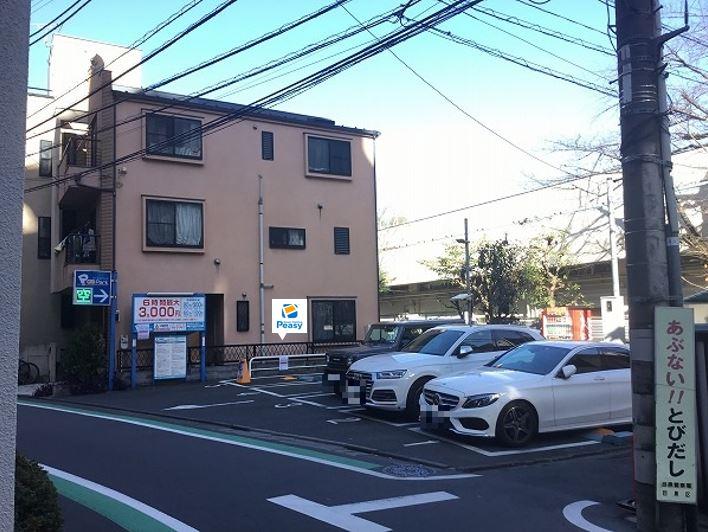 駐車場全景です。5番車室が駐車車室となります。
