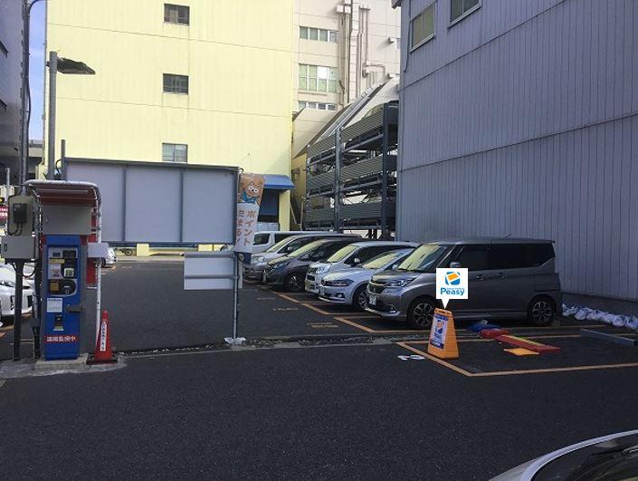 2番車室が駐車車室となります。