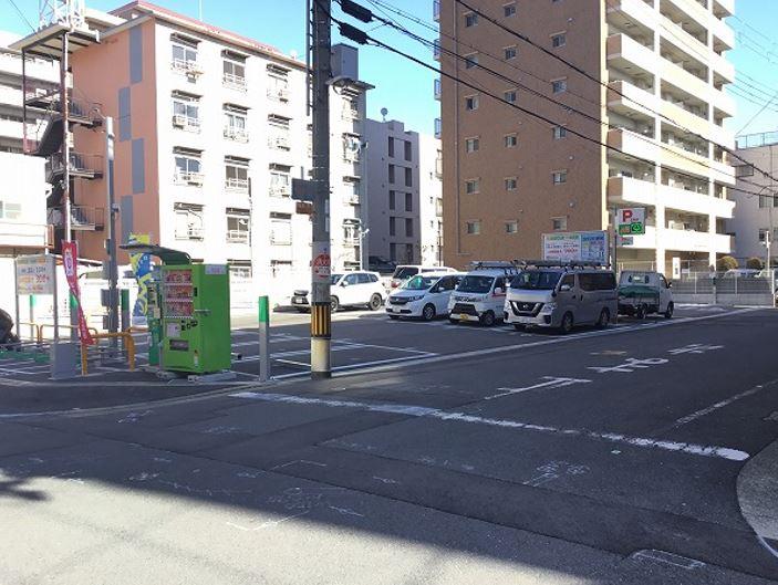 駐車場レイアウトです。1番~20番車室がPeasy車室となります。※実際の状況と異なる場合がございます